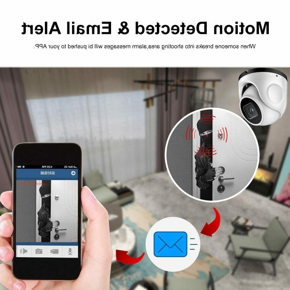 Vandalproof H.265+ 4K IMX415 POE IP Camera Metal ONVIF
