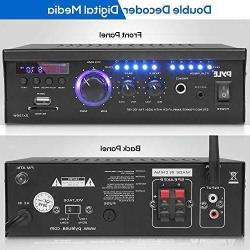 Wireless Home Stereo Amplifier 2x120 Power Amplifier Audio