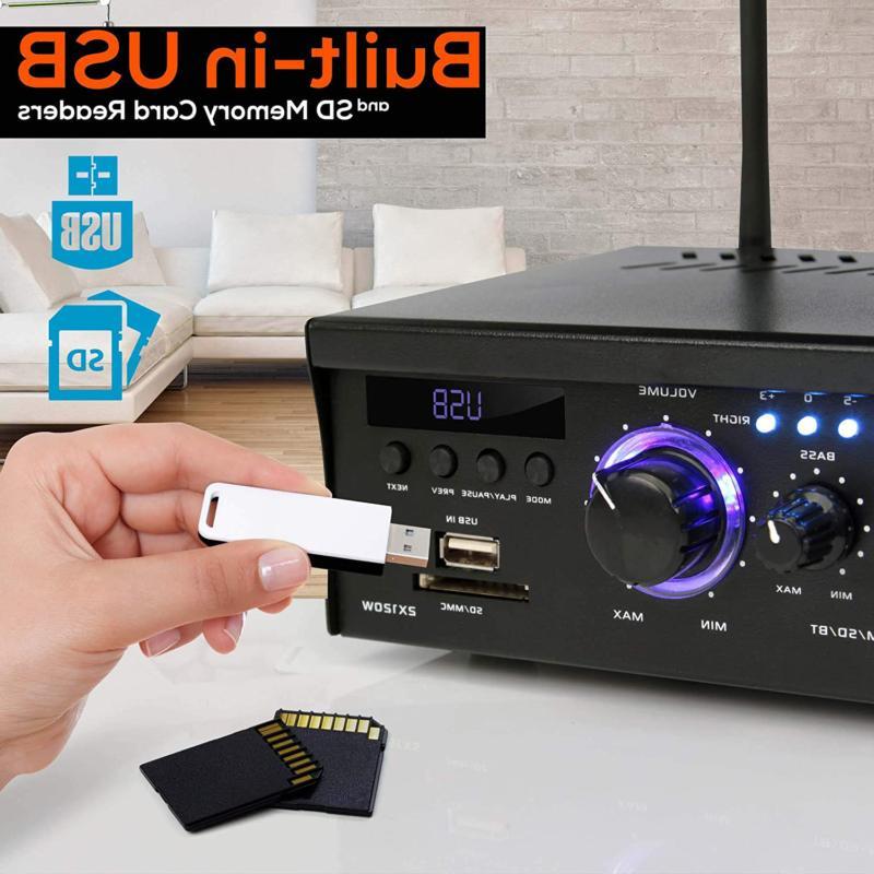 Wireless Amplifier - 2X120 Power Audio