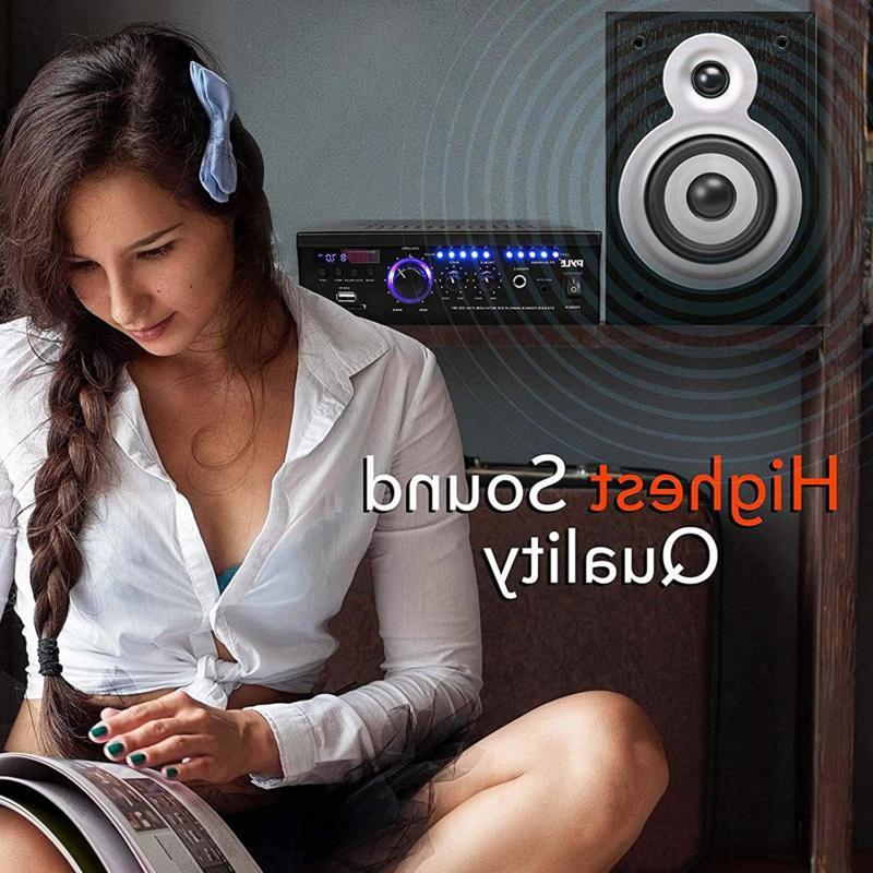 Wireless Stereo Amplifier Power