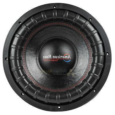 American Bass XFL-1222 Subwoofer 2 2000 Watts Audio