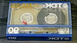 TDK MA-XG 90 Audio Cassette Tape