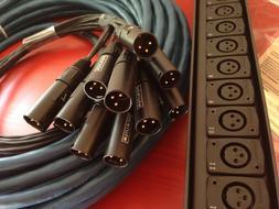 Whirlwind Medusa MINI12 Audio Snake: 12 inputs, 0 returns, 7