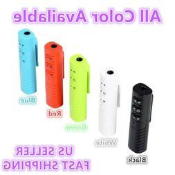 Mini Wireless Bluetooth Receiver Car Kit Hands free 3.5mm Ja