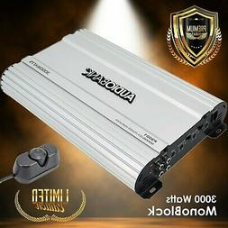 Audiobank Monoblock 3000 WATTS Amp Class AB Car Audio Stereo