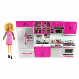 My Modern Kitchen Kit Battery Operated Toy Doll Playset Toy