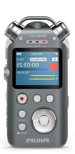 NEW PHILIPS DVT7500 VOICETRACER AUDIO RECORDER WITH XLR & LI