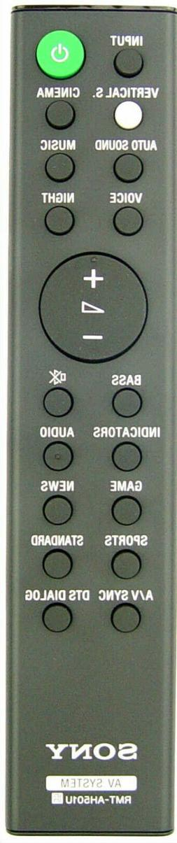 New Sony RMT-AH501U Remote W/3ft HDMI CABLE & Batteries  For
