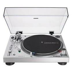 Audio-Technica AT-LP120XUSB Direct-Drive Turntable , Silver