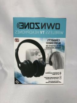 Sharper Image Own Zone Wireless TV Headphones ear Plug Audio