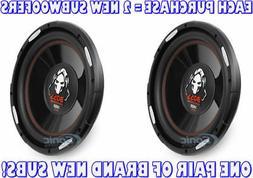 BOSS Audio P120F 1400 Watt, 12 Inch, Single 4 Ohm Voice Coil