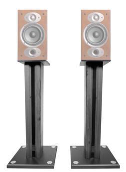 "Pair 26"" Bookshelf Speaker Stands For Polk Audio RTI A1 Book"