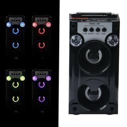 Portable BT Wireless Speaker Super Bass Radio with USB/TF/AU