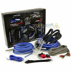 ppak4bl car amp installation kit