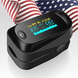 Finger Pulse Oximeter SPO2 PR PI Heart Rate Oxygen Saturatio