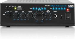 Pyle 2X120 Watt Home Audio Power Amplifier - Portable 2 Chan