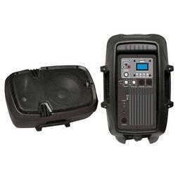"Pyle Pro Audio PPHP803MU 8"" 600W Powered 2-Way Pa Speaker W/"