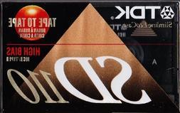 TDK SD110 Blank Cassette Tape