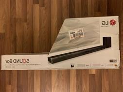 LG SJ4Y 2.1-Channel Audio Soundbar System 300W - Black