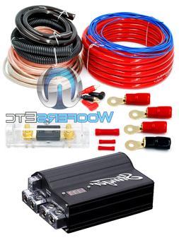 pkg STINGER SPC505 POWER 5 FARAD DIGITAL CAPACITOR + 0 GAUGE