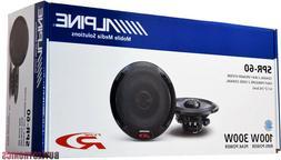 """Alpine SPR-60 6.5"""" Car Speakers / 6-1/2"""" Car Audio Speaker T"""