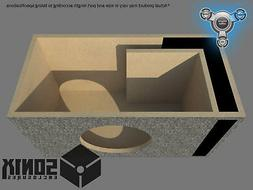 STAGE 1 - PORTED SUBWOOFER MDF ENCLOSURE FOR AUDIO PIPE TXX-