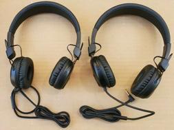 JLab Audio - Studio Wired On-Ear Headphones - Black