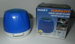 Sylvania Wireless Portable Speaker NEW Bluetooth 3.5 MM Audi