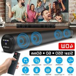 TV Home Bluetooth Sound Bar Theater Soundbar Speaker System