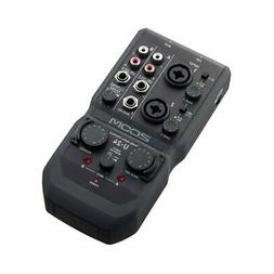 ZOOM U-24 Handy Audio Interface 2in/4out New in Box