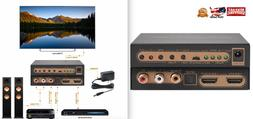 NexTrend Ultra HD HDMI 2.0 Audio Extractor 3.5mm Support 4K@