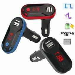 US Wireless Bluetooth Handsfree Car Audio FM Transmitter MP3