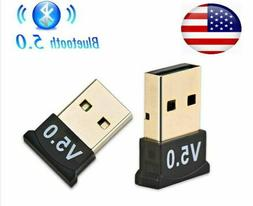 USB Bluetooth 5.0 Wireless Audio Music Stereo Adapter Dongle