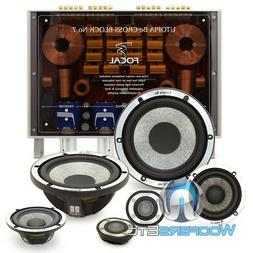 """FOCAL UTOPIA BE NO 7 6.5"""" 100W RMS 3-WAY COMPONENT SPEAKERS"""