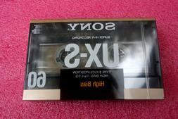 Sony UX-S 60 Minute Super Chrome TypeII High Bias Audio Cass