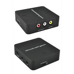 Video Recorder Card Accessories AV Audio ABS Converter No Pc