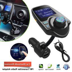 Wireless Bluetooth Car AUX Audio Receiver FM Transmitter Ada