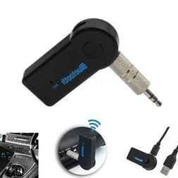 Wireless Bluetooth Receiver 3.5mm AUX Audio Stereo Music Hom