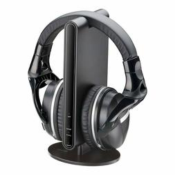 Auvio Wireless Stereo Headphones with Docking Station for TV